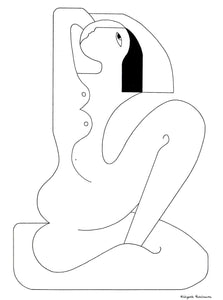 La Signorita by Hildegarde Handsaeme, Drawing at Art Acacia Gallery & Advisory