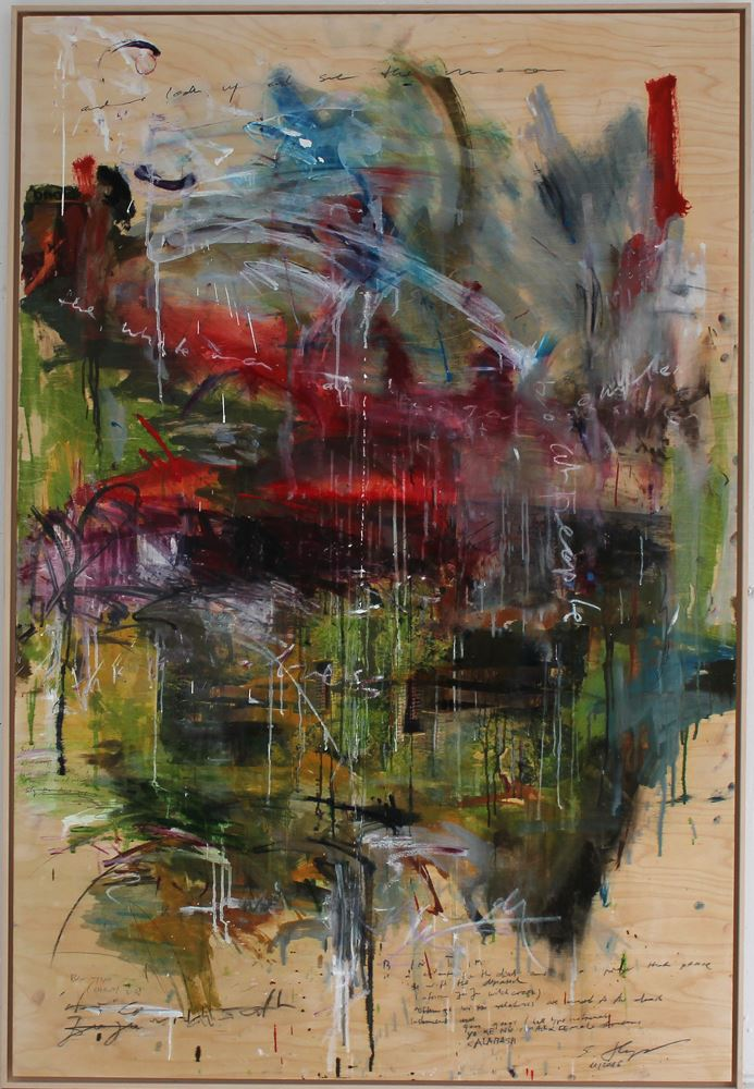 Falling Water by Stefan Heyer, Painting at Art Acacia Gallery & Advisory