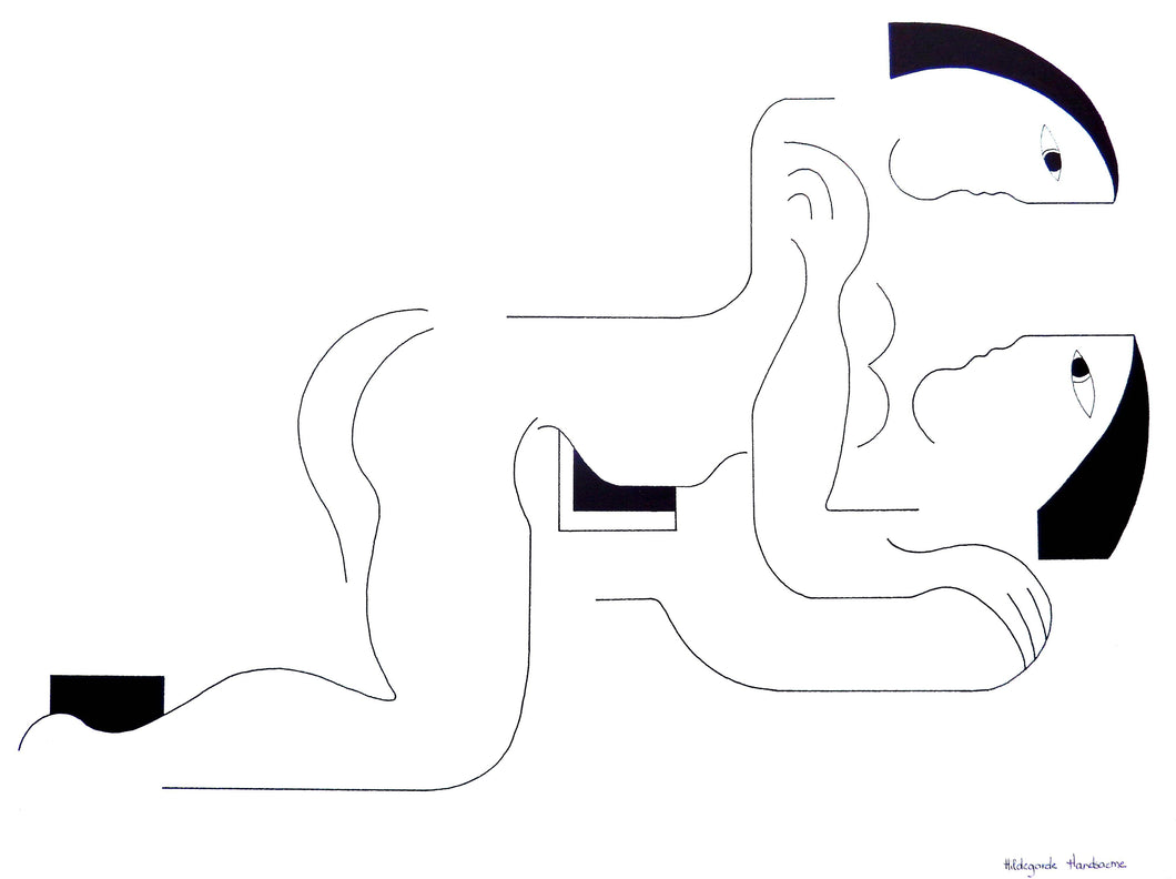 Amore by Hildegarde Handsaeme, Drawing at Art Acacia Gallery & Advisory