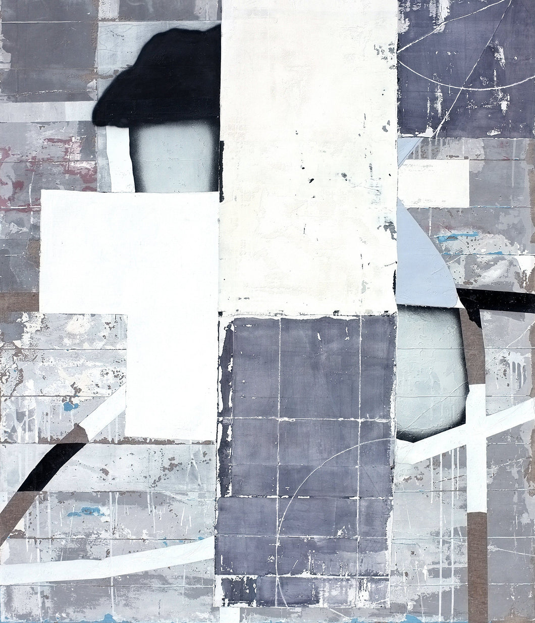 Grid by Antoine Puisais, Mixed-media at Art Acacia Gallery & Advisory