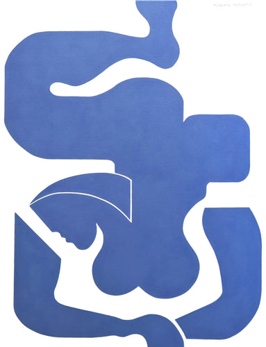Blue Sensation by Hildegarde Handsaeme, Painting at Art Acacia Gallery & Advisory