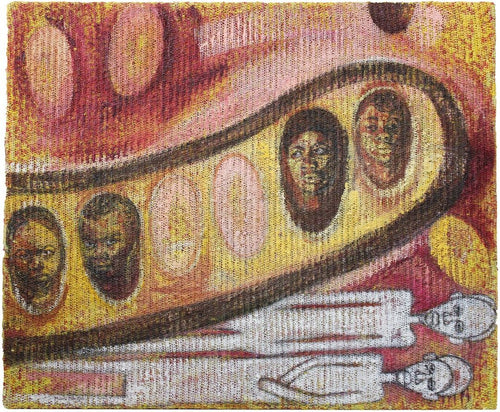 Deserted Seeds by Mwamba Mulangala, Mixed-media at Art Acacia Gallery & Advisory