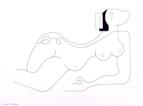 Elle by Hildegarde Handsaeme, Drawing at Art Acacia Gallery & Advisory