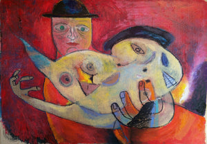 Finding Some Miracle by Szilárd Szilágyi, Painting at Art Acacia Gallery & Advisory