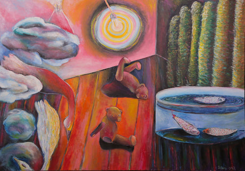 Inertia by Szilárd Szilágyi, Painting at Art Acacia Gallery & Advisory