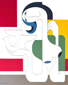 L'Oiseau de Liberte by Hildegarde Handsaeme, Painting at Art Acacia Gallery & Advisory