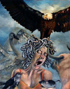 Frustration of Zeus by Rolando Duartes, Painting at Art Acacia Gallery & Advisory