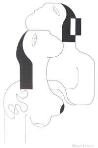L'Entreinte d'Amour by Hildegarde Handsaeme, Drawing at Art Acacia Gallery & Advisory