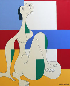 Message d'Espoir by Hildegarde Handsaeme, Painting at Art Acacia Gallery & Advisory