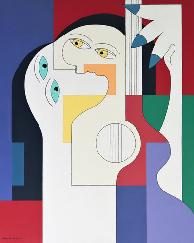 Musical Symbiosis by Hildegarde Handsaeme, Painting at Art Acacia Gallery & Advisory