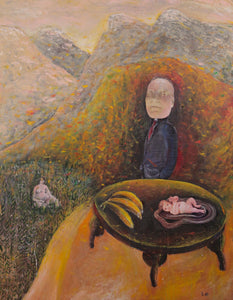 My Mother's Lover by Szilárd Szilágyi, Painting at Art Acacia Gallery & Advisory
