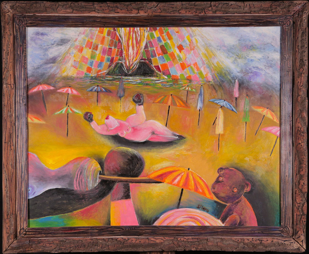 Postseason Eruption by Szilárd Szilágyi, Painting at Art Acacia Gallery & Advisory