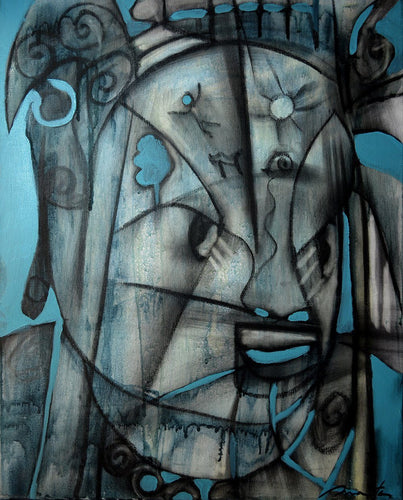 Stern by Rolando Duartes, Painting at Art Acacia Gallery & Advisory