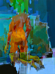 Stopping by Woods on a Snowy Evening by Melinda Matyas, Painting at Art Acacia Gallery & Advisory