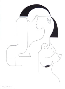 Tenderness by Hildegarde Handsaeme, Drawing at Art Acacia Gallery & Advisory