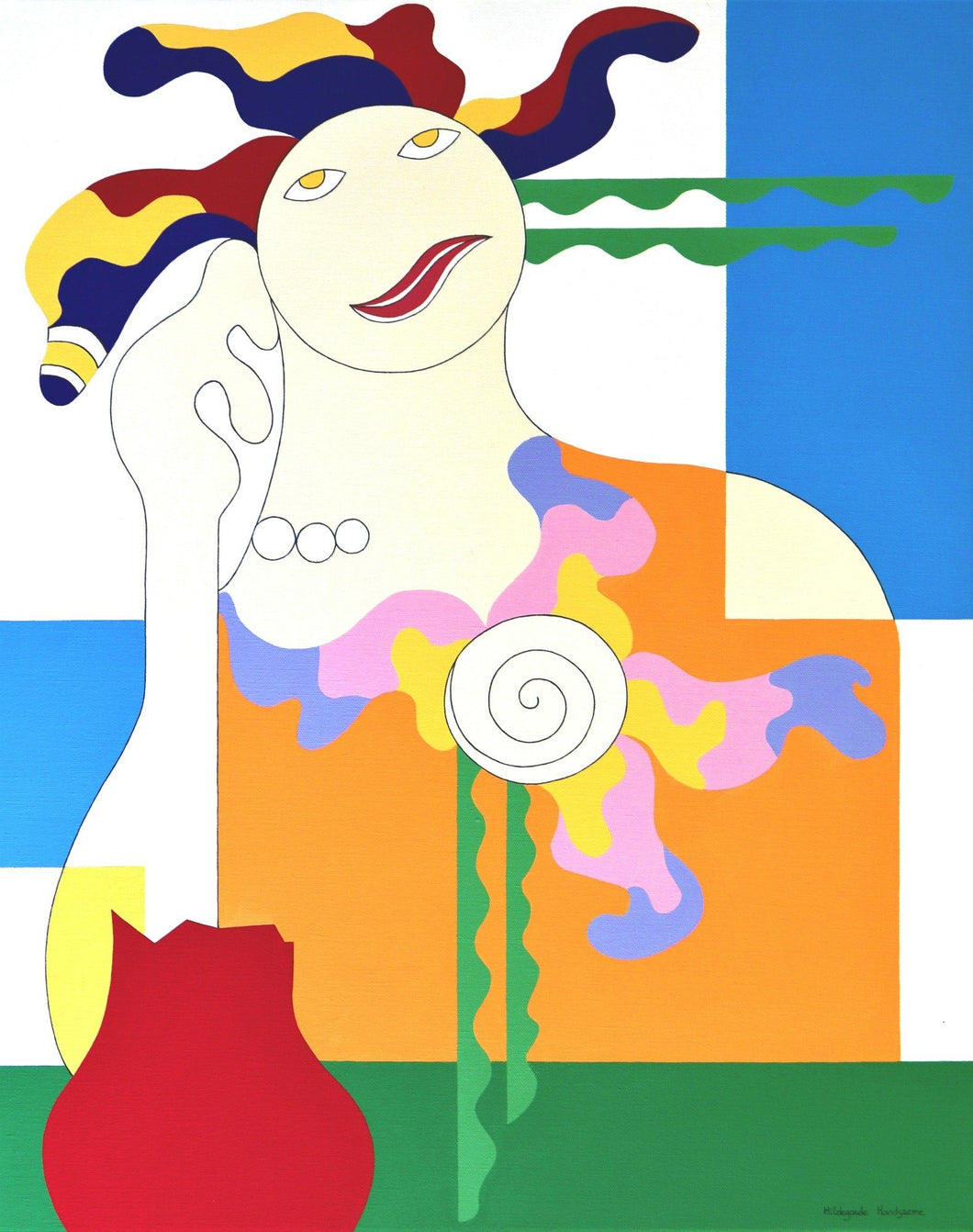 Battle by Hildegarde Handsaeme, Painting at Art Acacia Gallery & Advisory