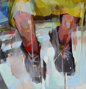 Traveler by Melinda Matyas, Painting at Art Acacia Gallery & Advisory