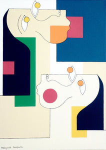 Twins by Hildegarde Handsaeme, Painting at Art Acacia Gallery & Advisory