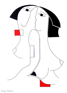 Unievisie by Hildegarde Handsaeme, Drawing at Art Acacia Gallery & Advisory