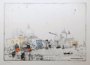 Venezia, 1998 by Alexander Befelein, Print at Art Acacia Gallery & Advisory
