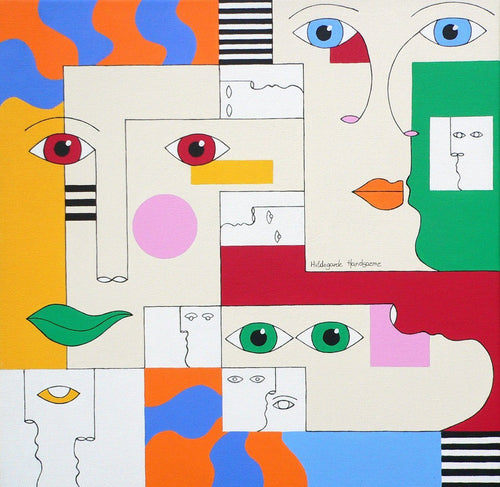 Confused by Hildegarde Handsaeme, Painting at Art Acacia Gallery & Advisory