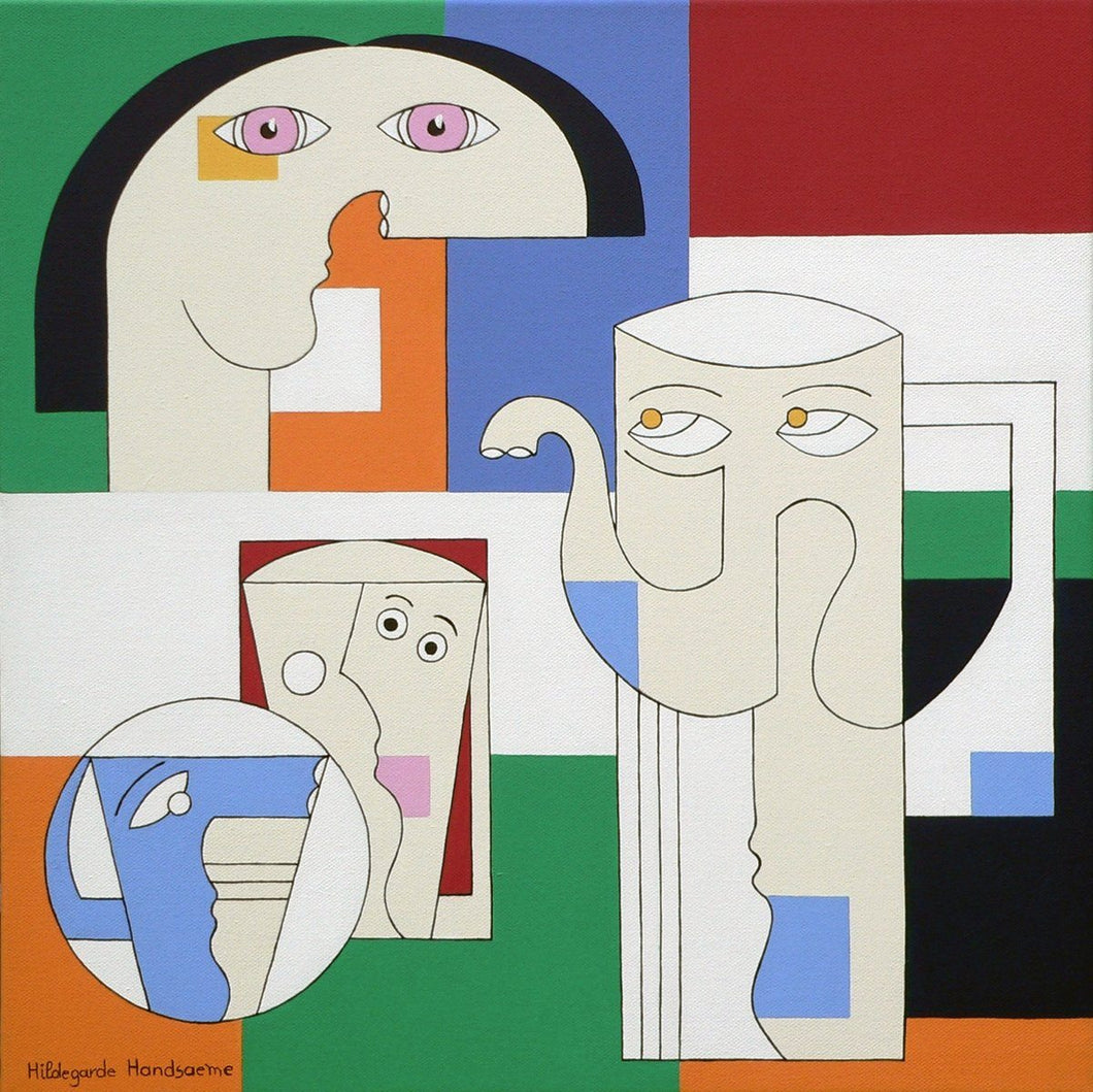Illy by Hildegarde Handsaeme, Painting at Art Acacia Gallery & Advisory
