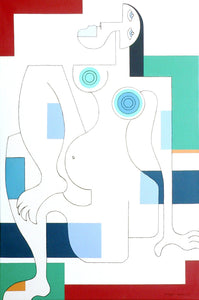 Women in Spring by Hildegarde Handsaeme, Painting at Art Acacia Gallery & Advisory