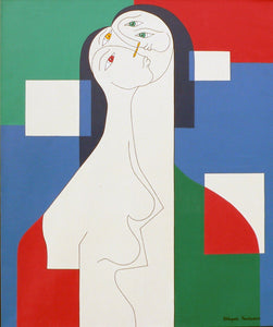 Trio by Hildegarde Handsaeme, Acrylic at Art Acacia Gallery & Advisory