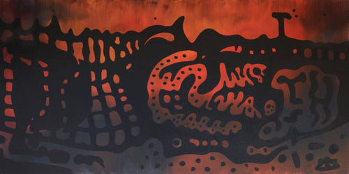 Alligator by Yuriy Zakordonets, Painting at Art Acacia Gallery & Advisory