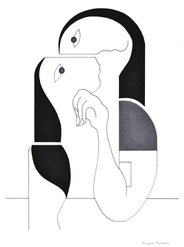 Tenderness 2 by Hildegarde Handsaeme, Drawing at Art Acacia Gallery & Advisory
