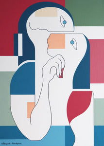 La Câlinerie by Hildegarde Handsaeme, Painting at Art Acacia Gallery & Advisory