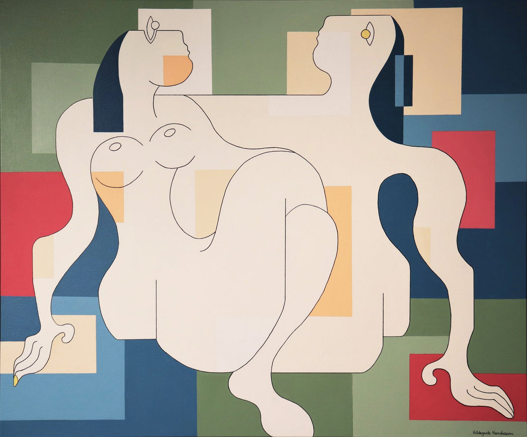 Fidelis by Hildegarde Handsaeme, Painting at Art Acacia Gallery & Advisory
