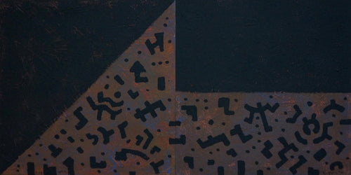 Two Black Squares by Yuriy Zakordonets, Painting at Art Acacia Gallery & Advisory