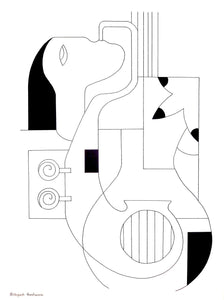 Les Lignes Musicales by Hildegarde Handsaeme, Drawing at Art Acacia Gallery & Advisory
