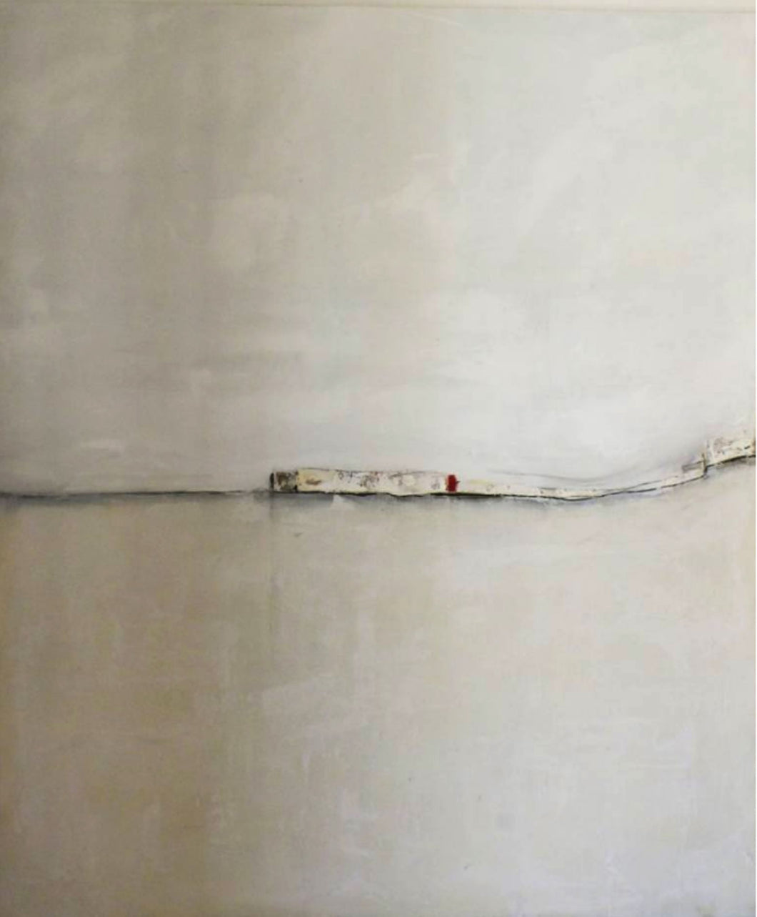 White Landscape 2 by Marilina Marchica, Painting at Art Acacia Gallery & Advisory