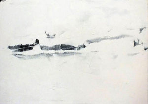 White Landscape 1 by Marilina Marchica, Painting at Art Acacia Gallery & Advisory