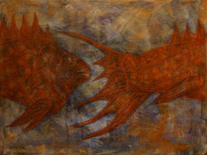 A Fish - Fish by Yuriy Zakordonets, Painting at Art Acacia Gallery & Advisory