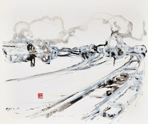 First Snow by Alfred Krupa, Painting at Art Acacia Gallery & Advisory