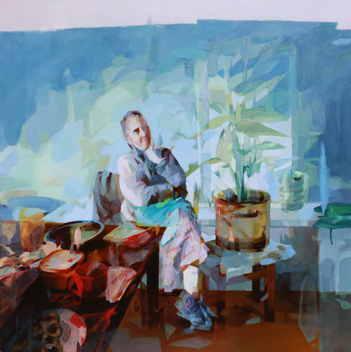 Breakfast Forever by Melinda Matyas, Painting at Art Acacia Gallery & Advisory