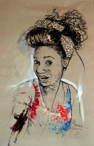 Women's Identity III by Mwamba Chikwemba, Drawing at Art Acacia Gallery & Advisory