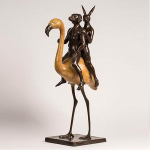 Flamingo by Gillie & Marc, Sculpture at Art Acacia Gallery & Advisory
