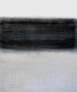 Landscape 5 by Marilina Marchica - black and white layers, shades, abstract