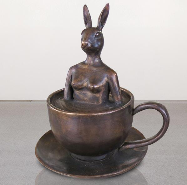 Today she thought she would espresso herself by Gillie & Marc, Sculpture at Art Acacia Gallery & Advisory