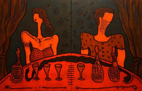 Plonk by Yuriy Zakordonets, Painting at Art Acacia Gallery & Advisory