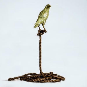 Simon, the magpie on short rope by Gillie & Marc, Sculpture at Art Acacia Gallery & Advisory