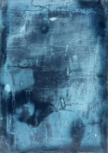 Deep Blue by Antoine Puisais, Mixed-media at Art Acacia Gallery & Advisory