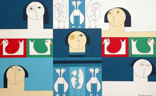 Sound of Birds by Hildegarde Handsaeme, Painting at Art Acacia Gallery & Advisory
