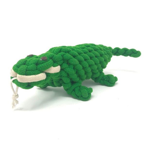 Crocodile Dog Toy Front