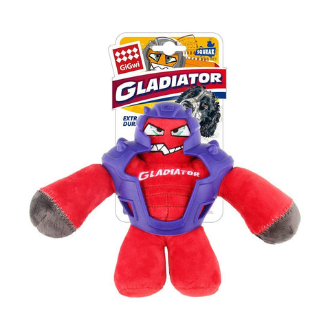 Gladiator Plush Dog Toy