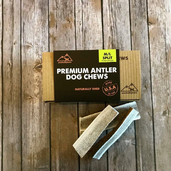 Premium Medium Antler Dog Chews